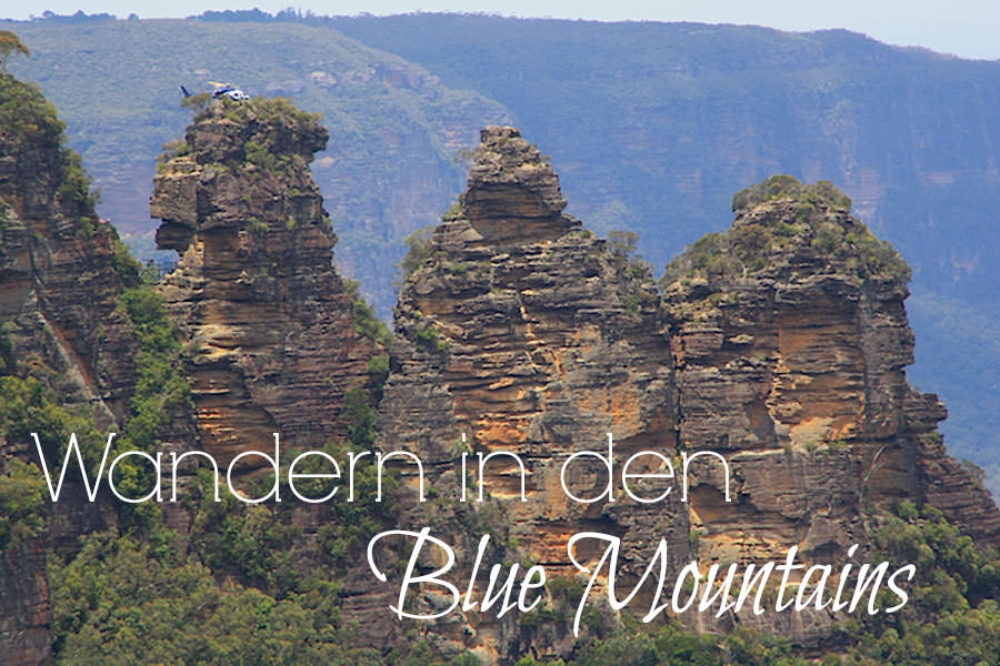 Wandern in den Blue Mountains - Titel