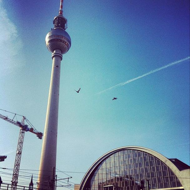 Berlin Alexanderplatz Fernsehturm