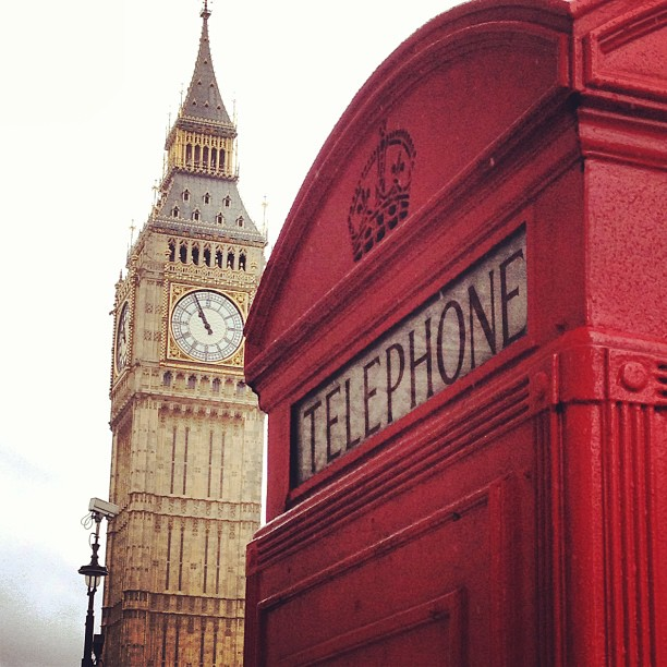 London Big Ben and Telephone Box