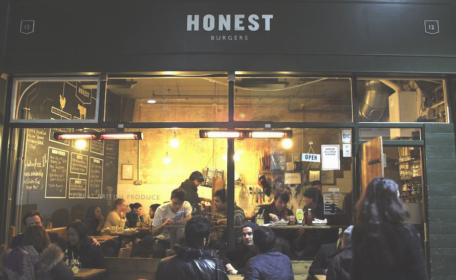 A Tasty Hike - Englisches Essen in London - Honest Burgers in Brixton, London