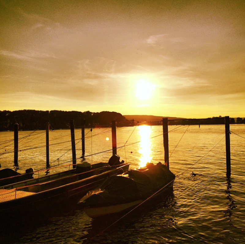 ITB Globetrotter - Instagram Travel Thursday - A Perfect Day in Constance - Sunset at the Rhine