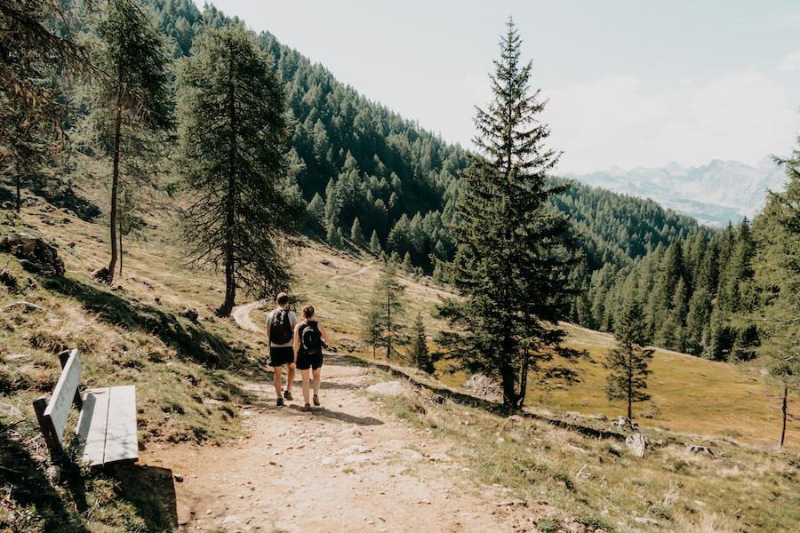 Hirzer Wanderung - A Tasty Hike - Suedtirol - Abstieg