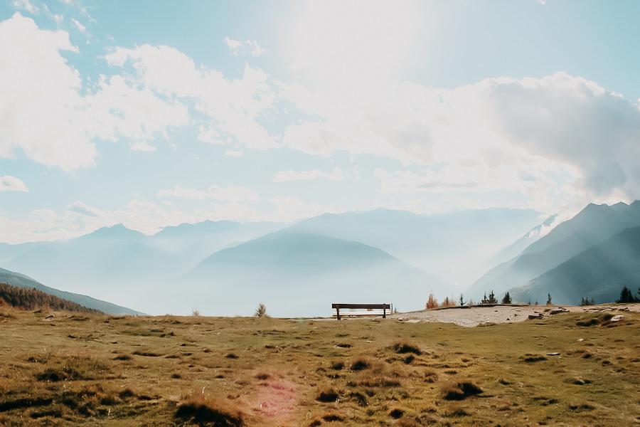 Hirzer Wanderung - A Tasty Hike - Suedtirol - Bergstation Aussicht