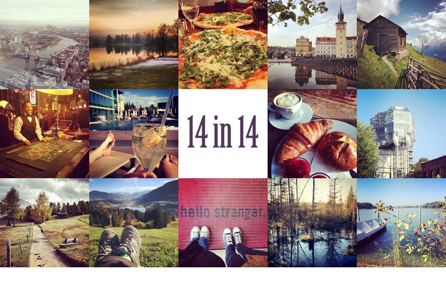 14 in 14 - unser Reisejahr 2014