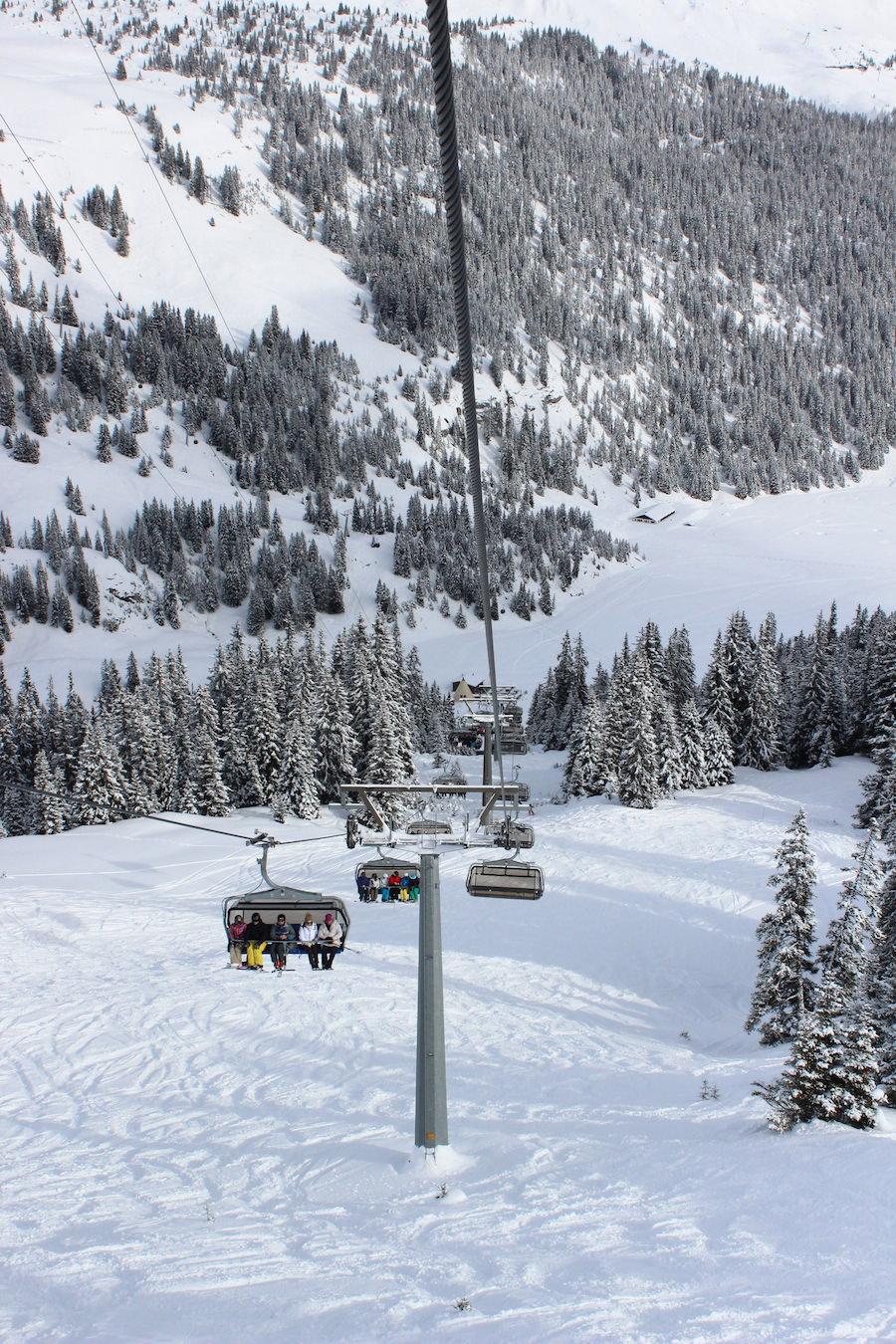 Flims Laax Skigebiet