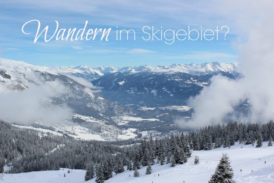 Flims Laax Skigebiet Titel