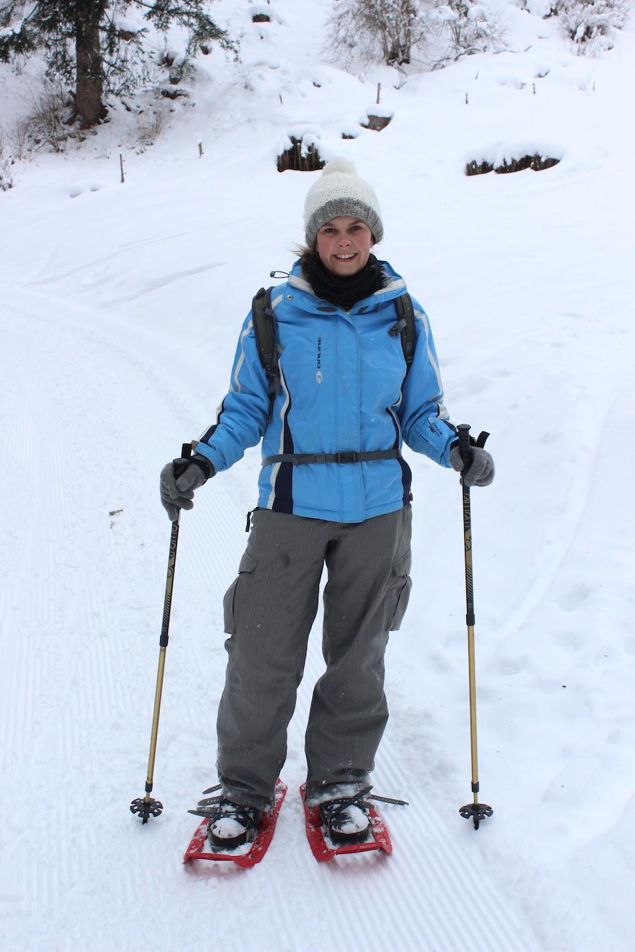 Schneeschuhwandern - Wasserfeste Kleidung ist wichtig