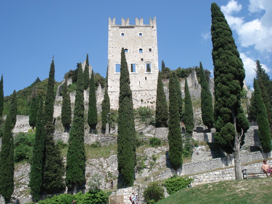 Castello de Arco am Gardasee
