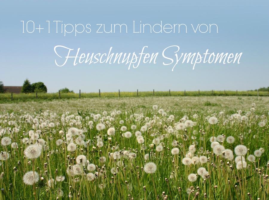 Heuschnupfen Symptome lindern