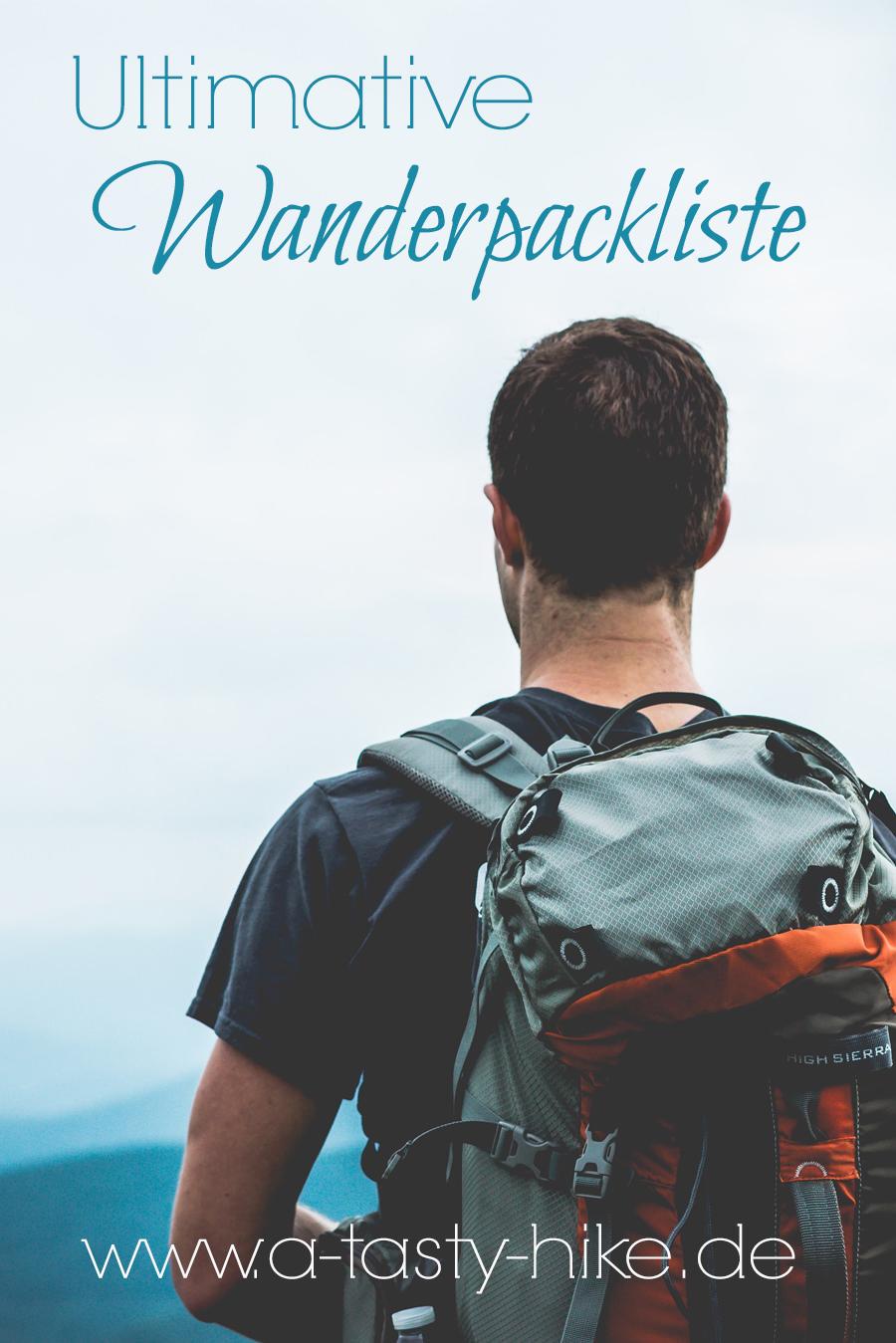 Wanderpackliste: Mit unserer ultimativen Packliste fürs Wandern bist du wunderbar für deine nächste Wanderung vorbereitet und vergisst bei deiner nächsten Wandertour ganz sicher nichts! #Packliste #Wandern