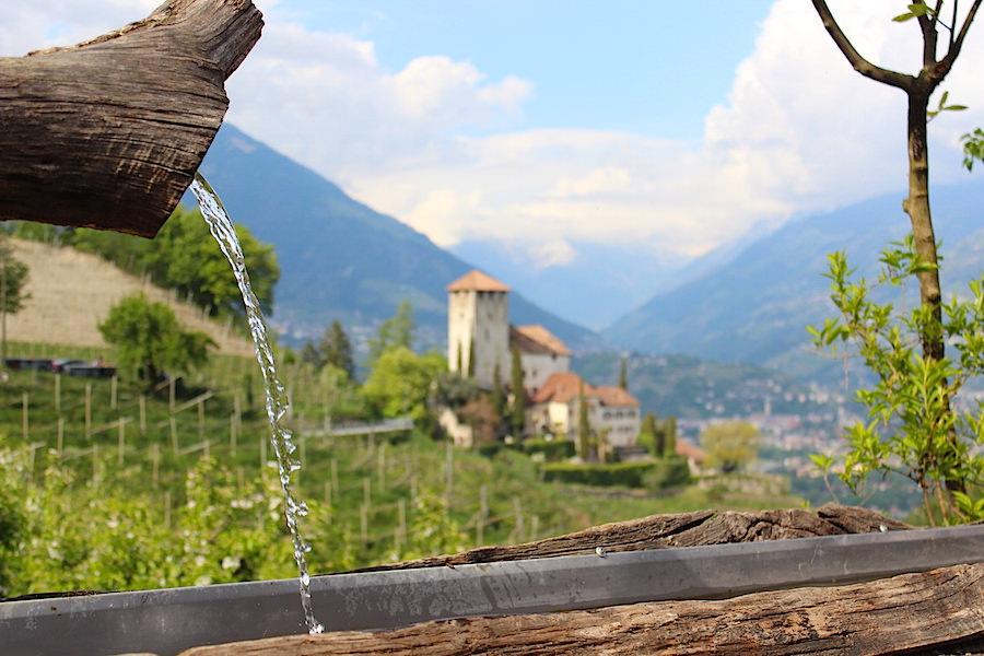 Waalwege Südtirol - Marlinger Waalweg