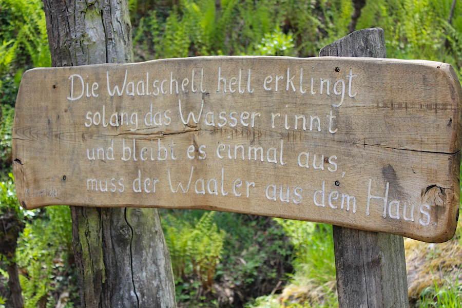 Waalwege Südtirol - Waaler