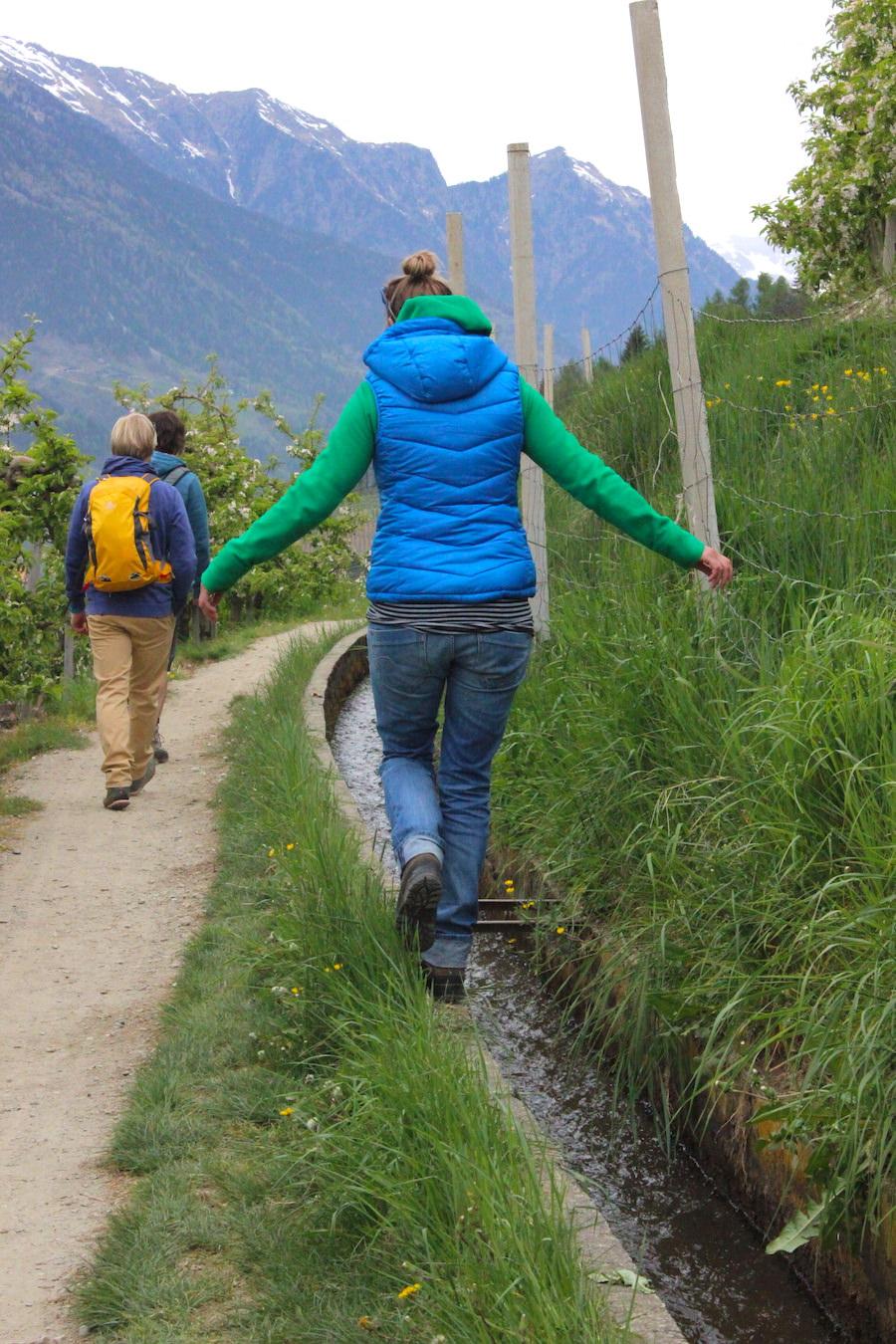Waalwege Südtirol - Wandern