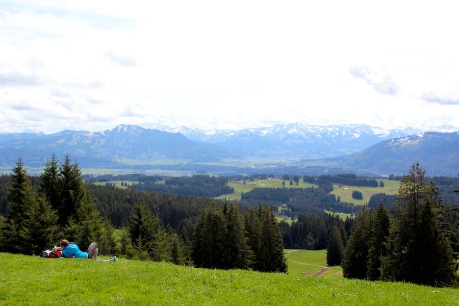 Alpkönigblick - Alpenpanorama - Wandern im Allgäu
