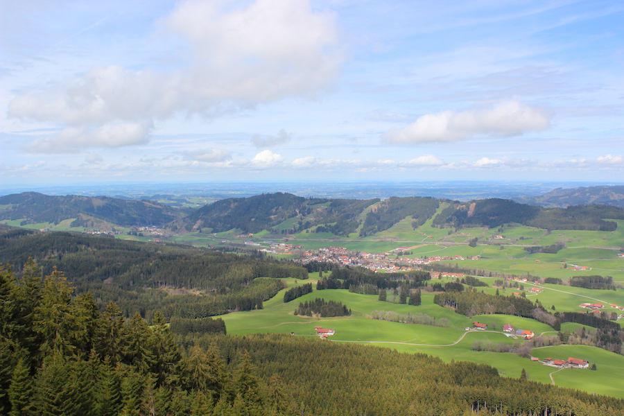 Alpkönigblick - Aussicht Allgäu - Wandern im Allgäu