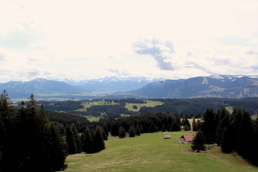 Alpkönigblick - Aussicht Alpen - Wandern im Allgäu