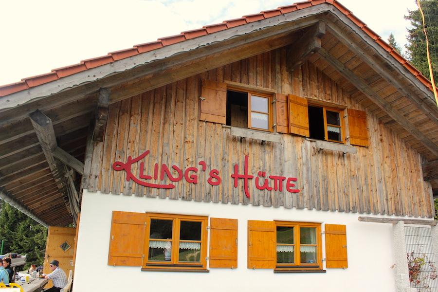 Alpkönigblick - Klings Hütte - Wandern im Allgäu
