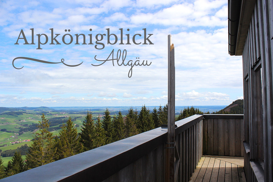 Alpkönigblick - Wandern im Allgäu - Title