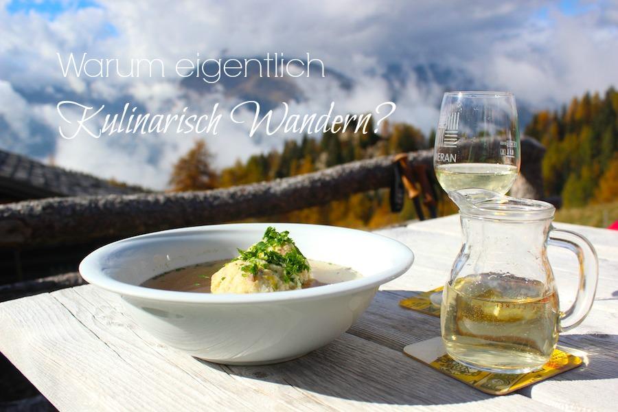 Kulinarisch Wandern
