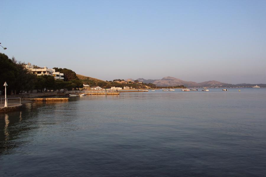 Port de Pollença - Mallorca - Hotel Illa d'Or - Aussicht vom Bootssteg