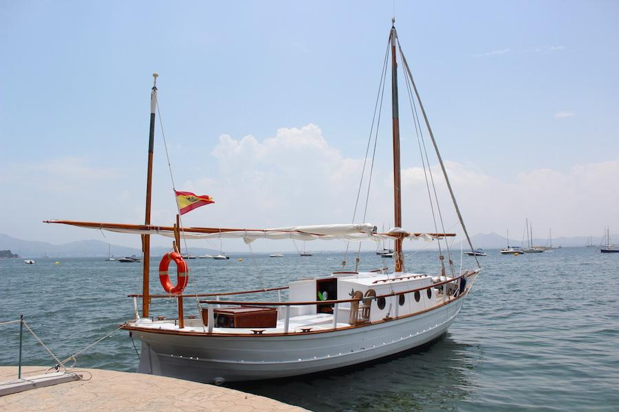 Port de Pollença - Mallorca - Hotel Illa d'Or - Boot