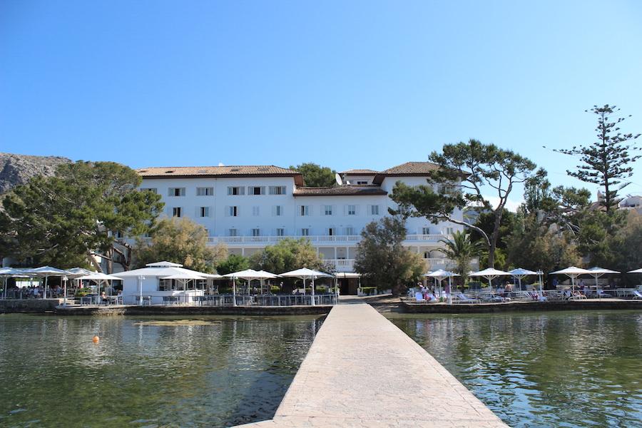 Port de Pollença - Mallorca - Hotel Illa d'Or - Hotel außen