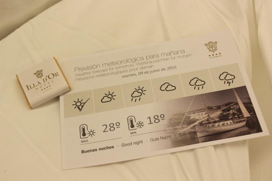 Port de Pollença - Mallorca - Hotel Illa d'Or - Wettervorhersage