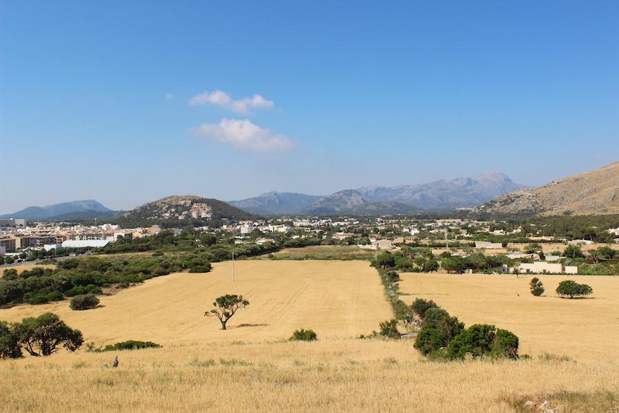 Wanderung Cala Bóquer Mallorca - Ausblick auf Pollença