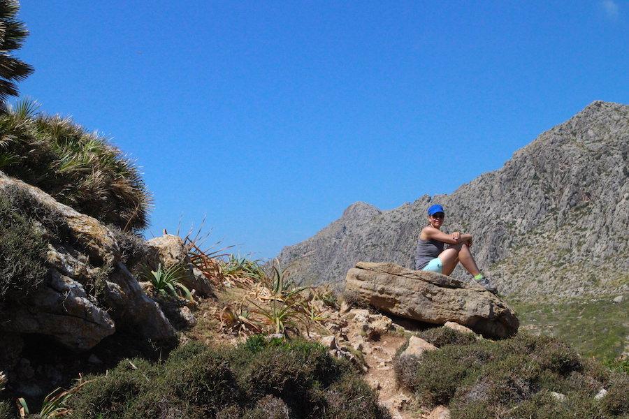 Wanderung Cala Bóquer Mallorca - Ausblick