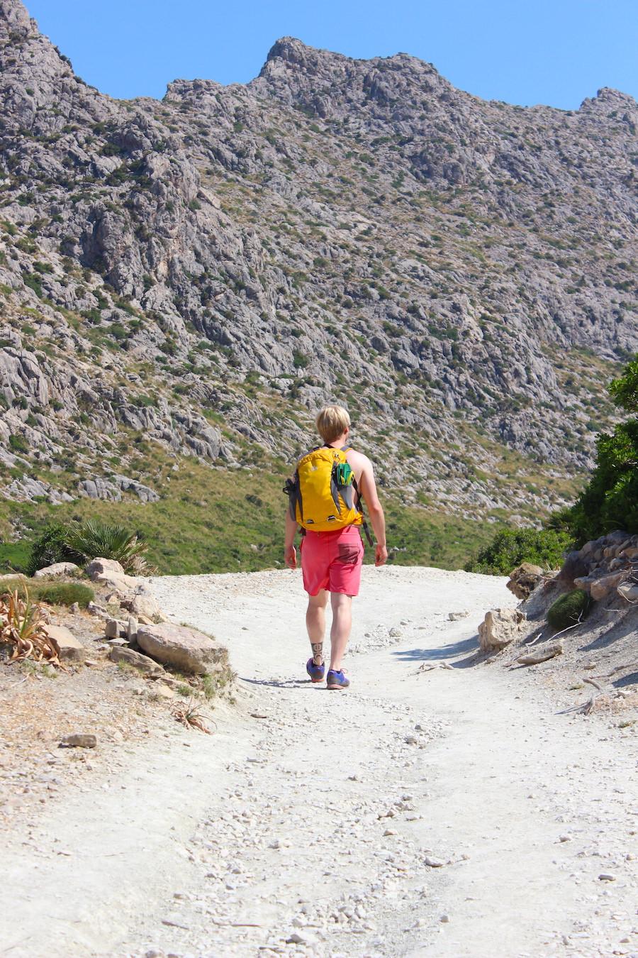 Wanderung Cala Bóquer Mallorca - Christian