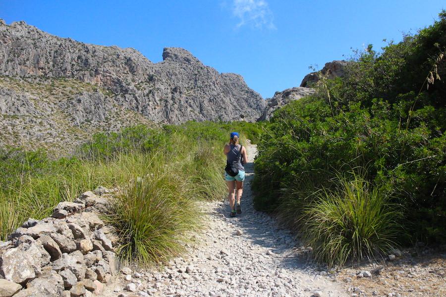 Wanderung Cala Bóquer Mallorca - Jana 2