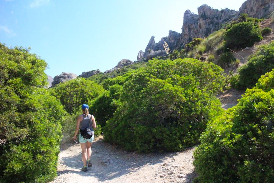 Wanderung Cala Bóquer Mallorca - Jana