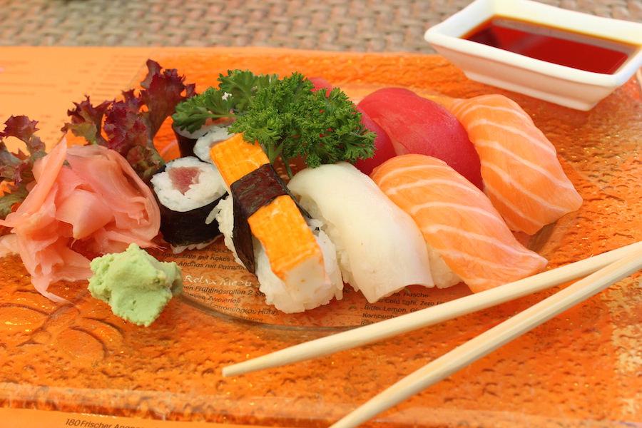 Bregenz kulinarisch - Manga - Sushi