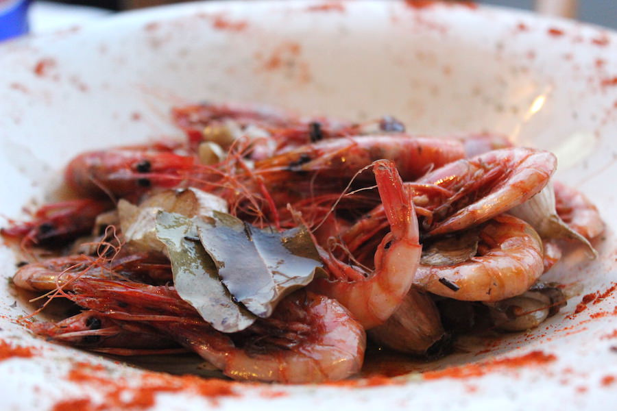 Essen in Port Pollenca auf Mallorca - Los Faroles Vorspeise