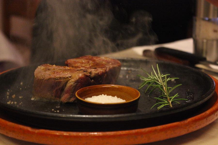 Essen in Port Pollenca auf Mallorca - Siller Steak