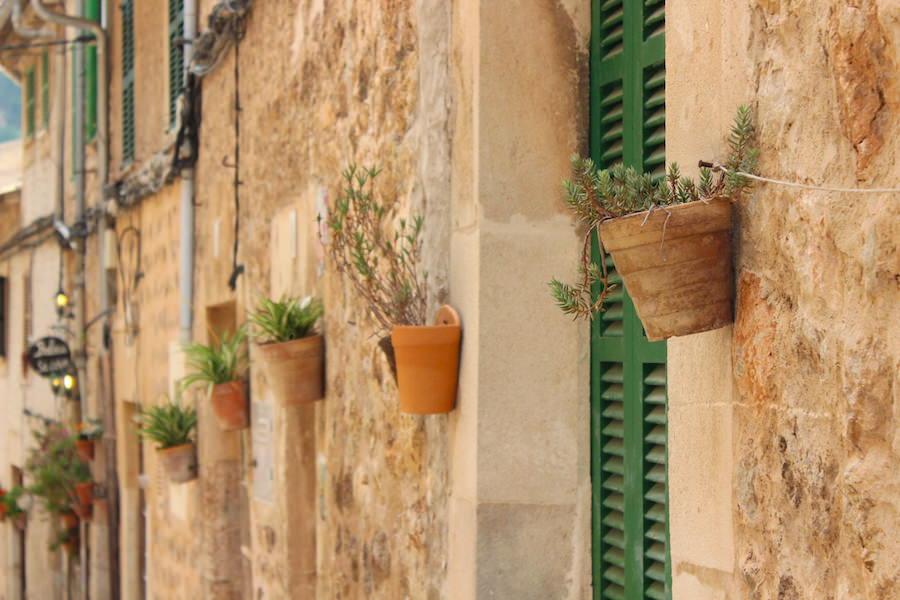 Mallorca Valldemossa - Straßen