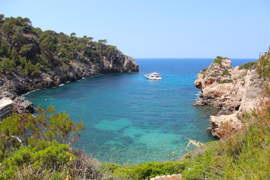 Mallorca Wanderung Cala Deià - Bucht