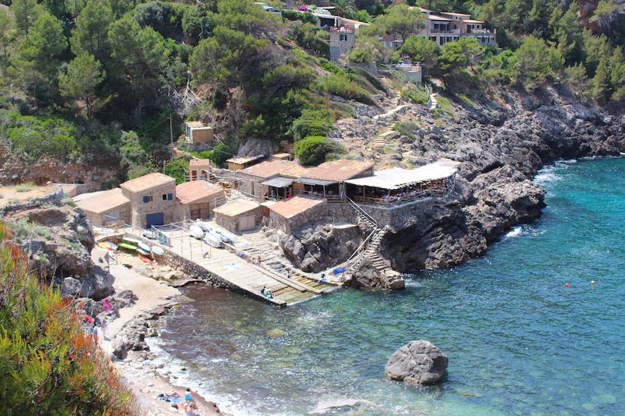Mallorca Wanderung Cala Deià - Einkehrmöglichkeit