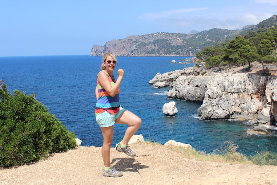 Mallorca Wanderung Cala Deià - Spaß