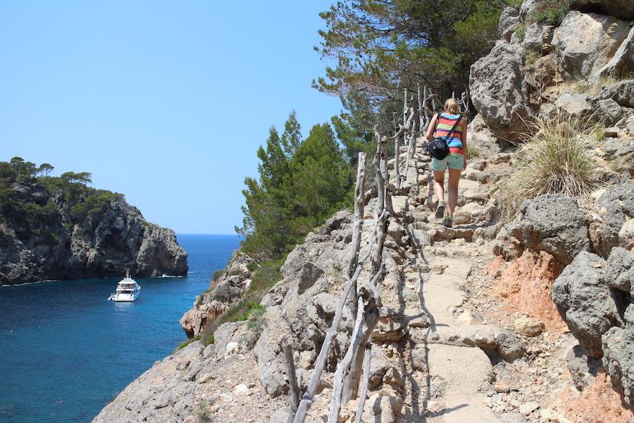 Mallorca Wanderung Cala Deià - Wanderweg
