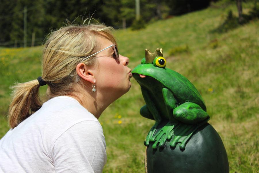 Vigiljoch Wandern Südtirol - Froschkönig