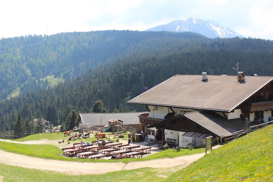 Vigiljoch Wandern Südtirol - Gasthof Jocher