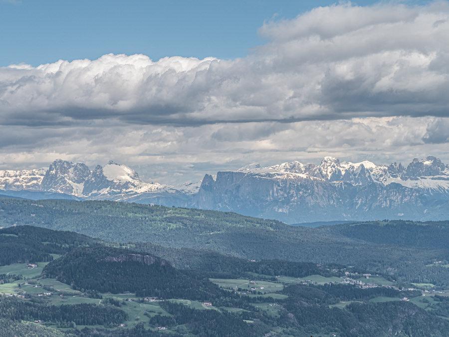 Vigiljoch wandern - Suedtirol - A Tasty Hike - Dolomiten Aussicht