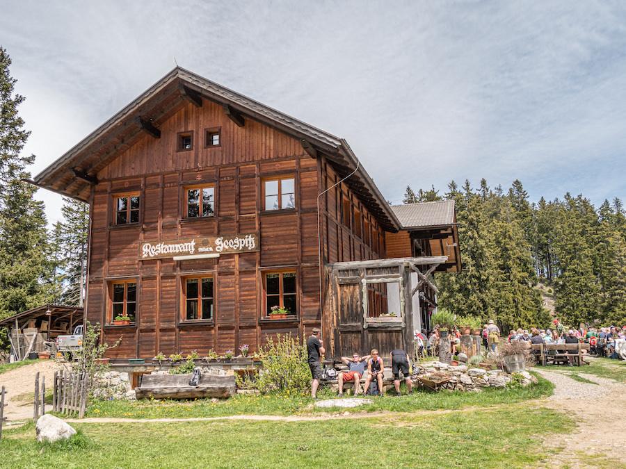 Vigiljoch wandern - Suedtirol - A Tasty Hike - Gasthaus Seespitz