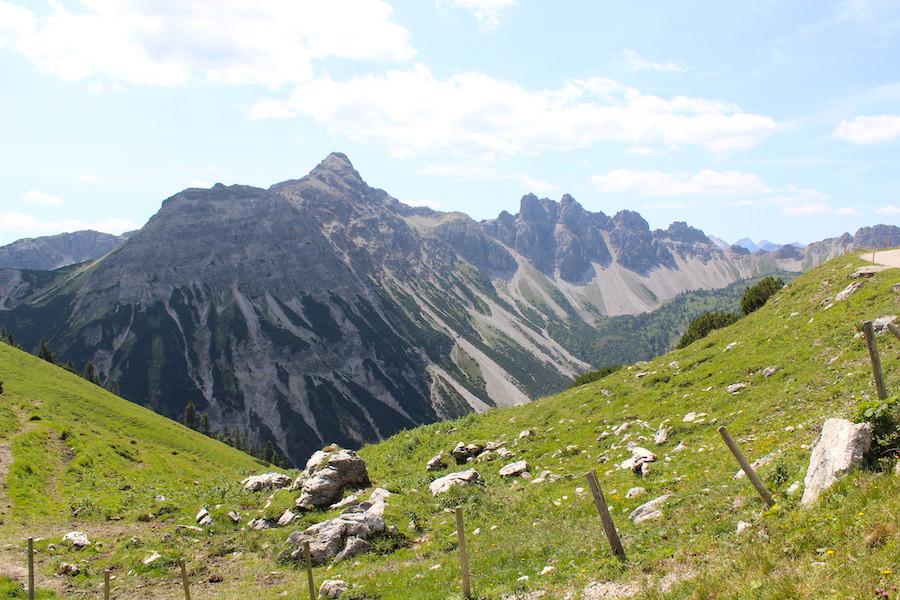 Vom Neunerköpfle zur Sulzspitze in Tirol - Ausblick