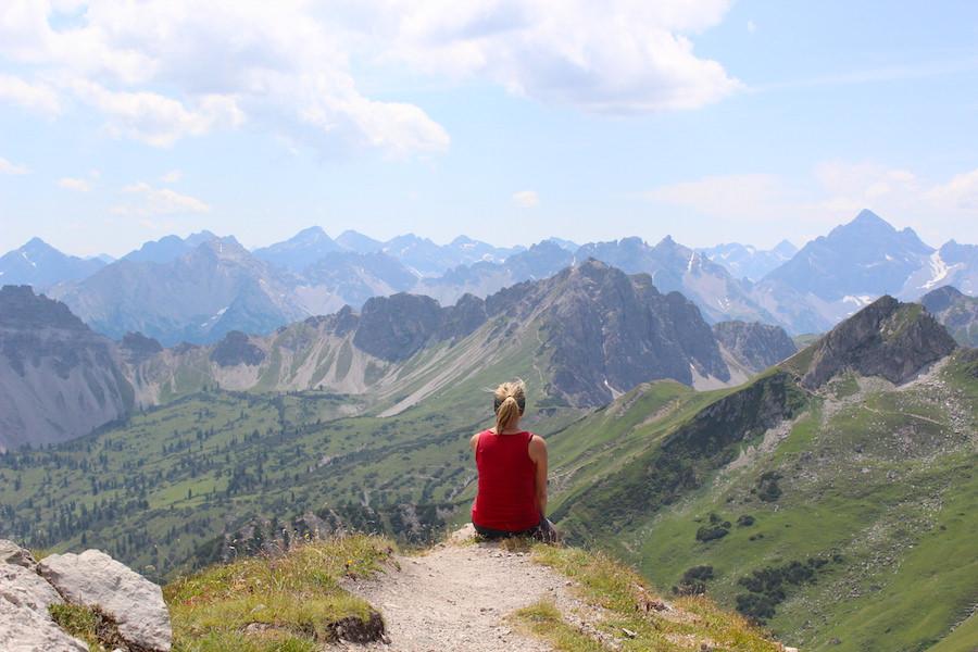 Vom Neunerköpfle zur Sulzspitze in Tirol - Entspannen
