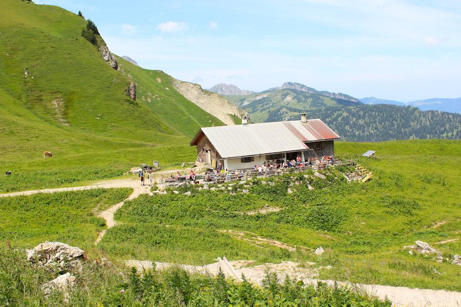 Vom Neunerköpfle zur Sulzspitze in Tirol - Gappenfeldalm nah