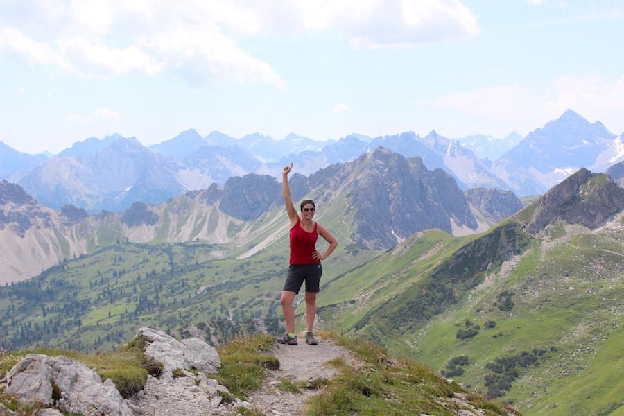 Vom Neunerköpfle zur Sulzspitze in Tirol - Gipfel erreicht