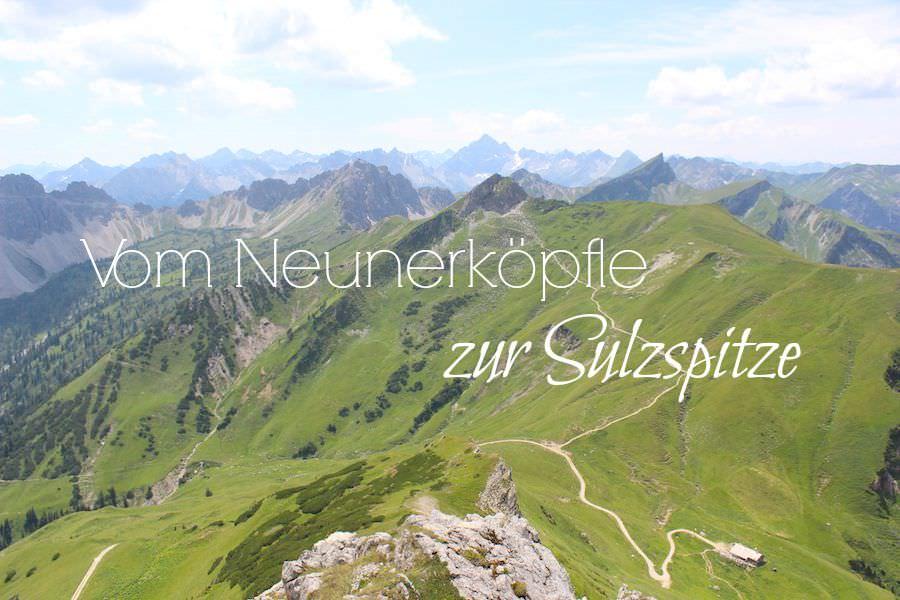 Vom Neunerköpfle zur Sulzspitze in Tirol - Titel