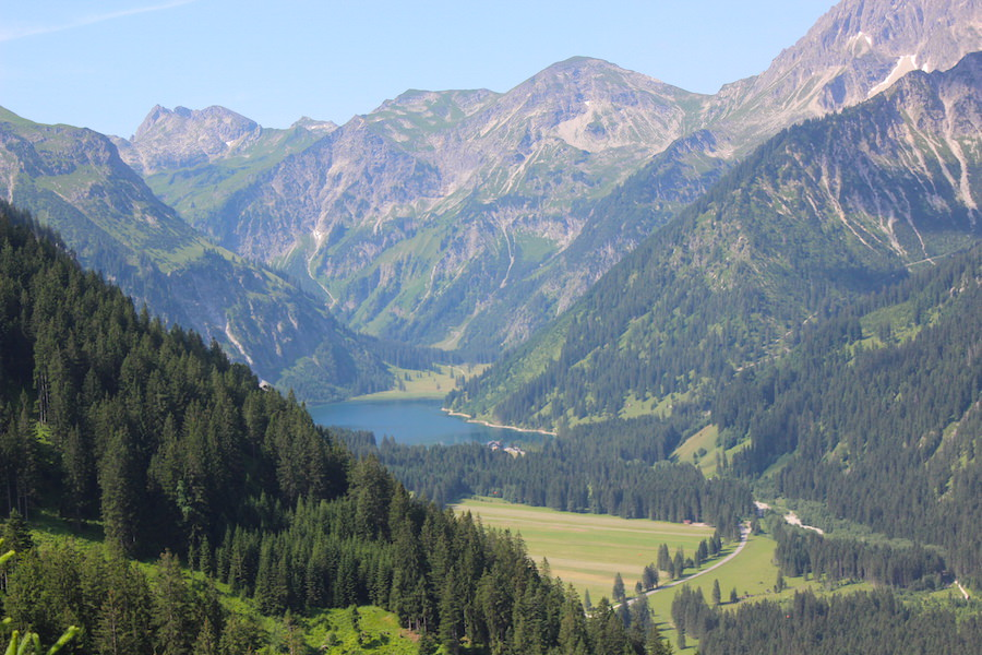 Vom Neunerköpfle zur Sulzspitze in Tirol - Vilsalpsee